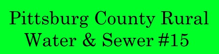 Pittsburg County Rural Water & Sewer #15